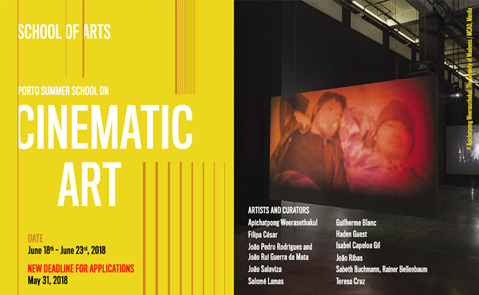 Porto Summer School on Art & Cinema 2018 · 1st Edition